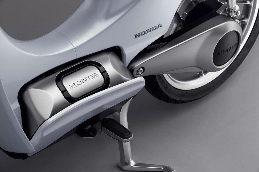 Honda scooter electrico 2018 - EV Cub Concept