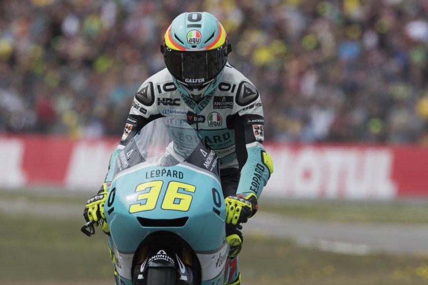 Pase lo que pase en Sachsenring, Mir continuará como líder de Moto3.