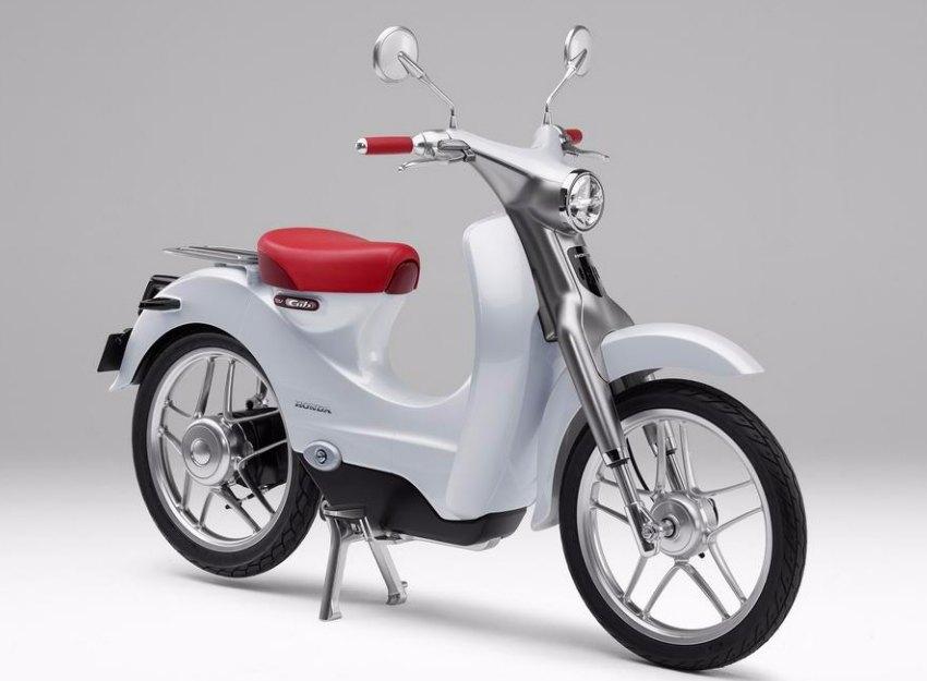 Scooter electrico Honda 2018 - EV Cub Concept
