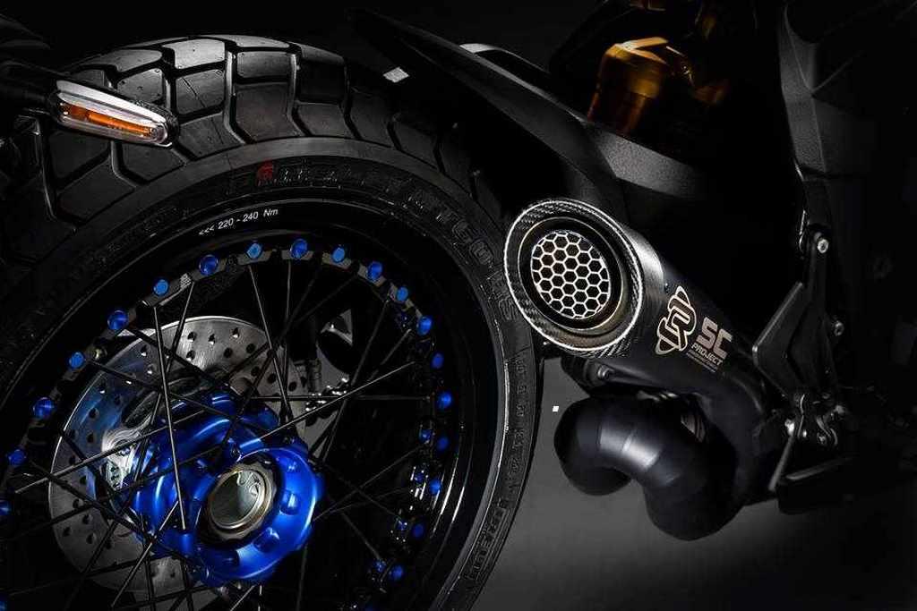 Novedades Motos Supermotard MV Agusta Rivale 800 2018