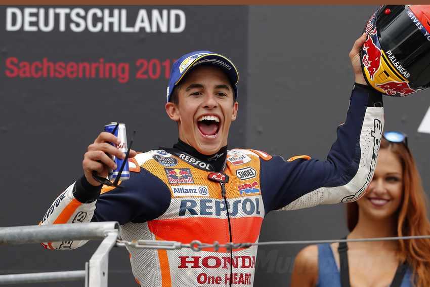 Marc Marquez MotoGP 2017 Alemania