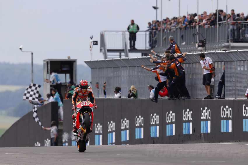 Marc Marquez Alemania 2017 MotoGP