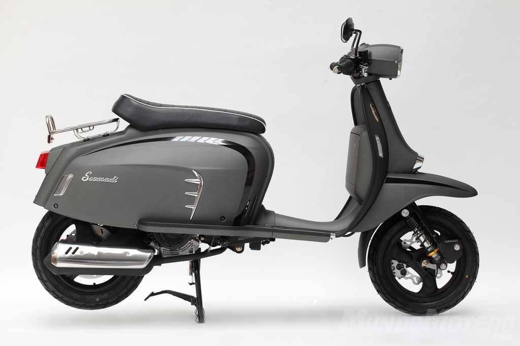Scomadi TL125 Turismo Leggera