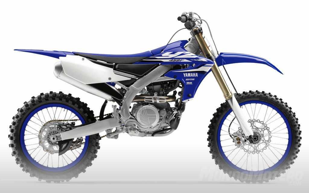 Nueva moto de motocross Yamaha YZ450F 2018