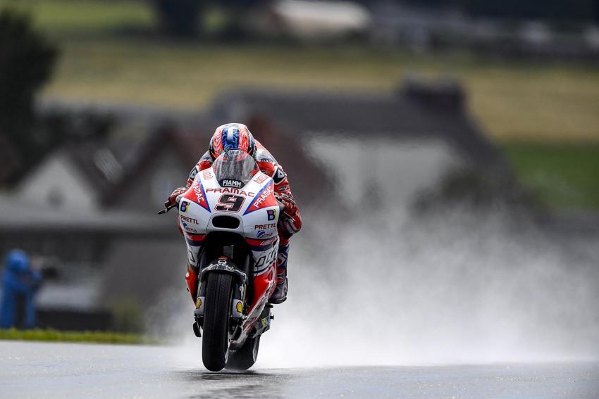 Danilo Petrucci, recién renovado por Ducati, ha vuelto a dejar su sello en el GP de Alemania.