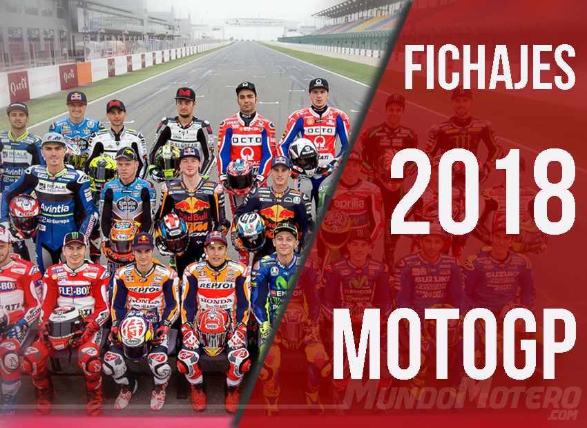 Fichajes MotoGP 2018