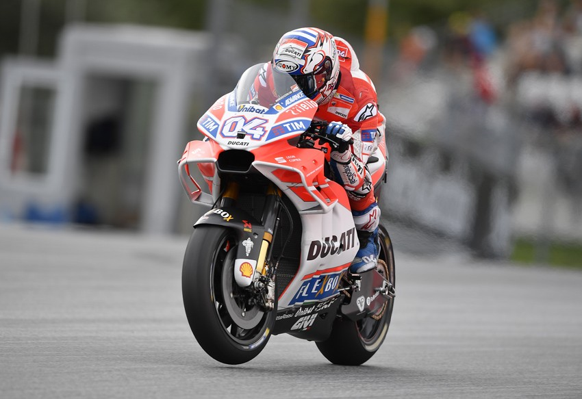 Andrea Dovizioso ha sido el único piloto de Ducati que ha conseguido plantar cara a Márquez.