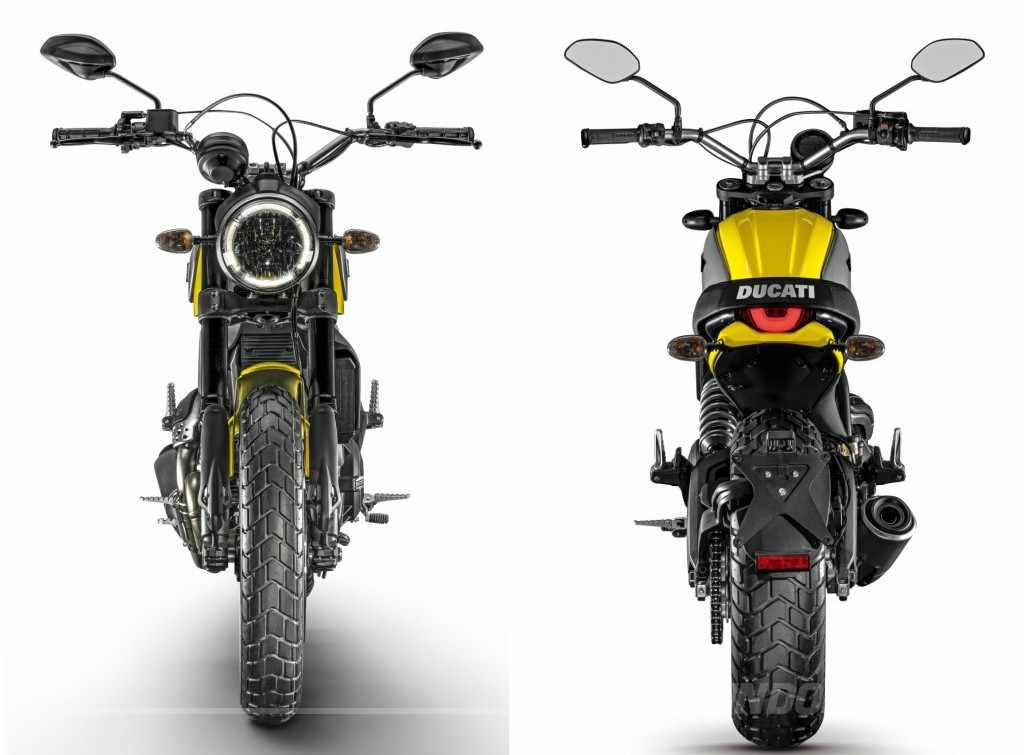 Ducati Scrambler Icon Ficha Tecnica