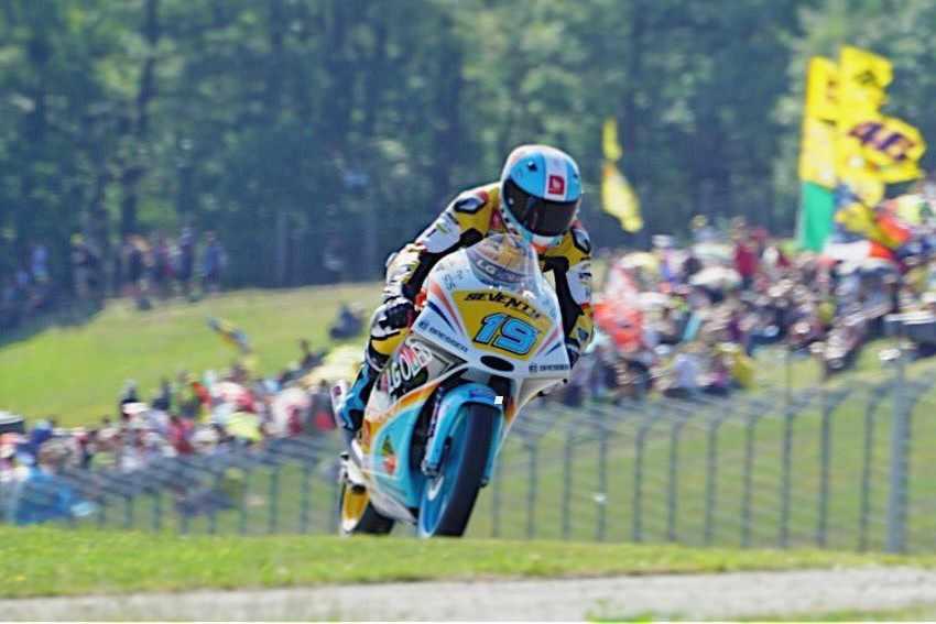 GP República Checa Moto3 2017 - Pole para Gabi Rodrigo
