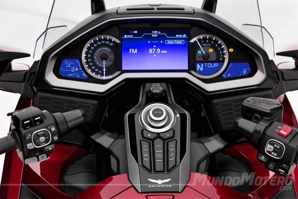 Honda Goldwing 1800 velocidad maxima