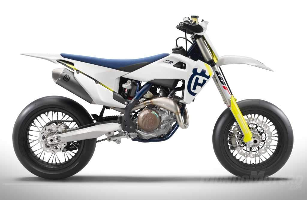 Motos de Supermotard - Husqvarna FS 450 2019