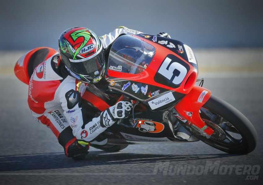 Jaume Masia Moto3 2017 Austria