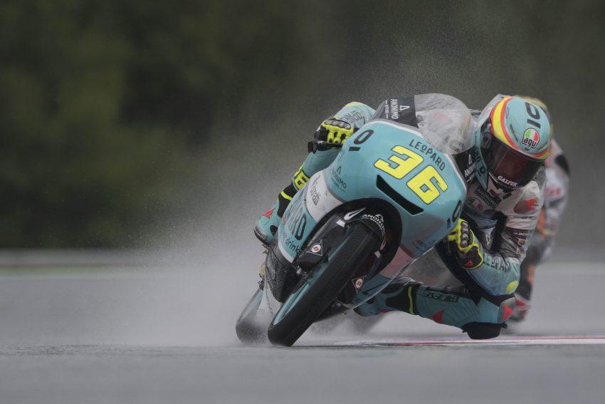 Joan Mir también sabe ganar sobre la lluvia y en Brno ha dado otro golpe en la mesa.