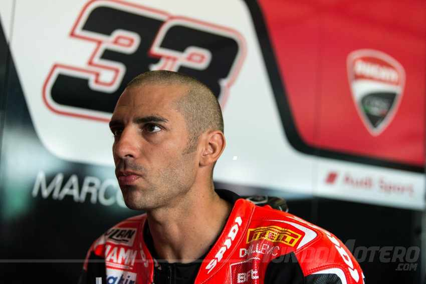 Marco Melandri SBK Ducati 2018