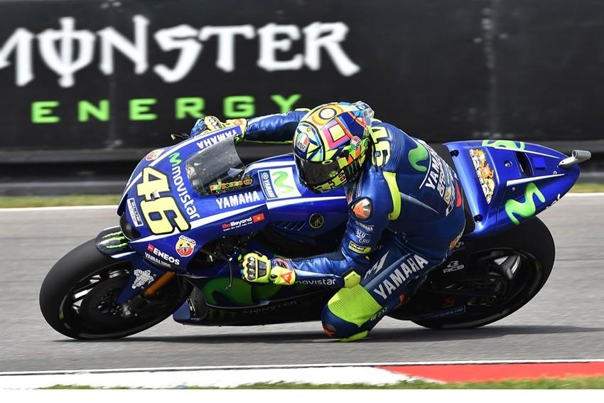 Valentino Rossi ha demostrado tener un gran ritmo de carrera en el FP4.