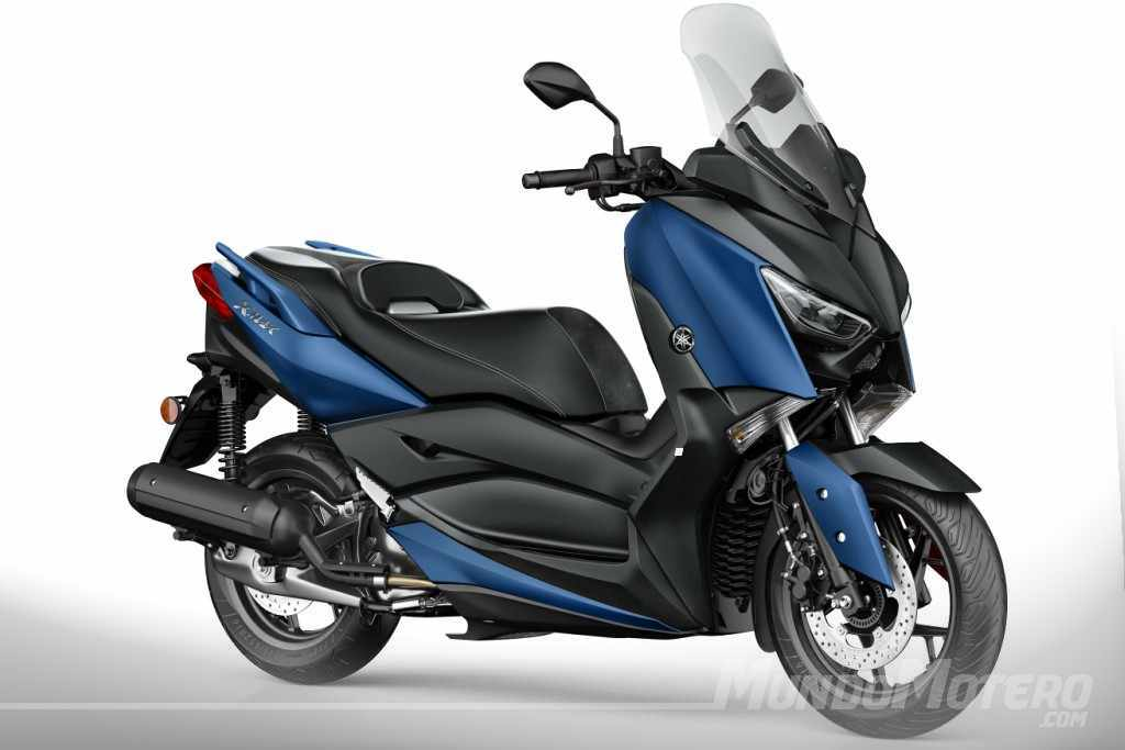 yamaha x max 125 2018 precio ficha tecnica opiniones. Black Bedroom Furniture Sets. Home Design Ideas