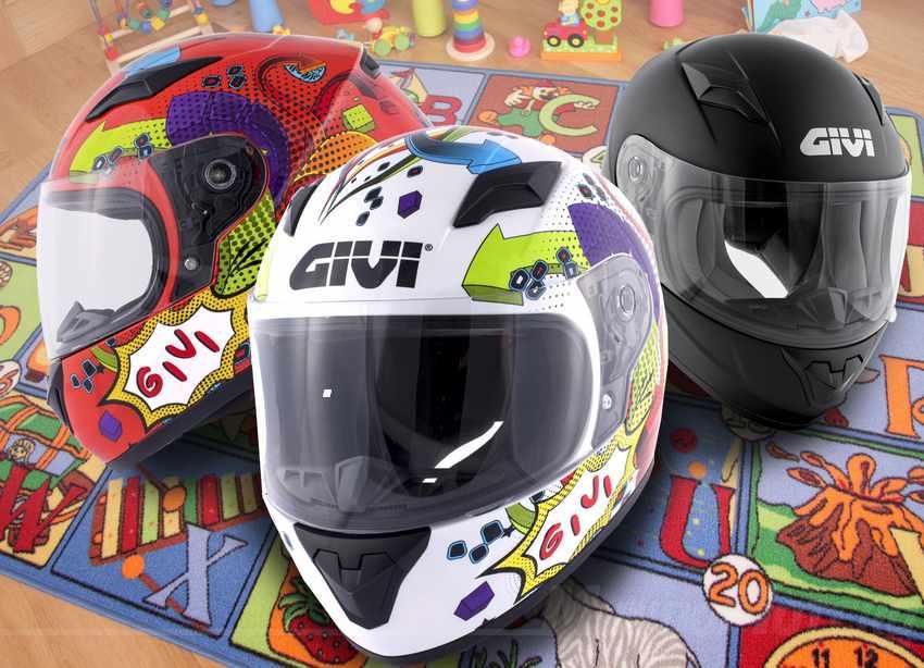 cascos de moto integrales para niños