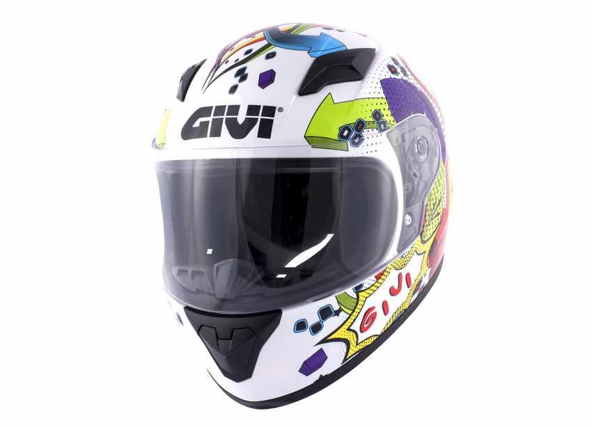 cascos de moto para niños con visera