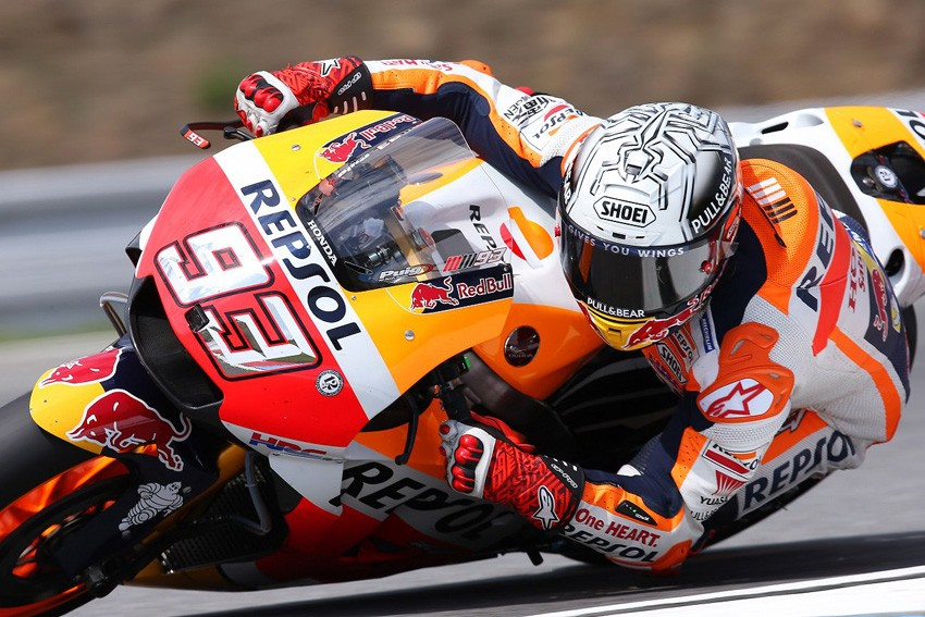 Marc Márquez se anota la pole de MotoGP en Brno.