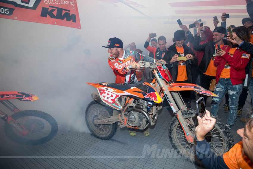 Antonio Cairoli campeon mundo motocross MXGP 2017