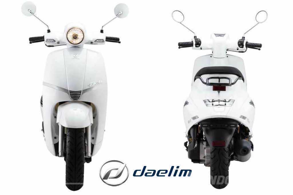 Nuevo Daelim Besbi 125 2018 - Scooters 125 retro