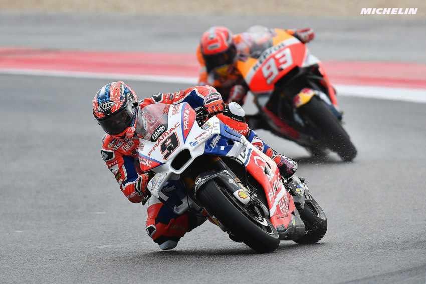 Danilo Petrucci Marc Marquez MotoGP-Misano-2017
