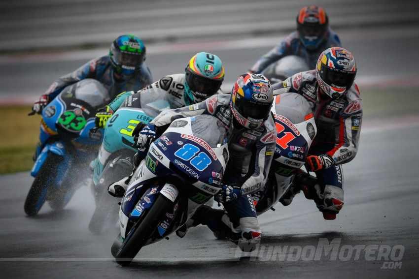 Clasificación general de Moto3 2017 tras Misano