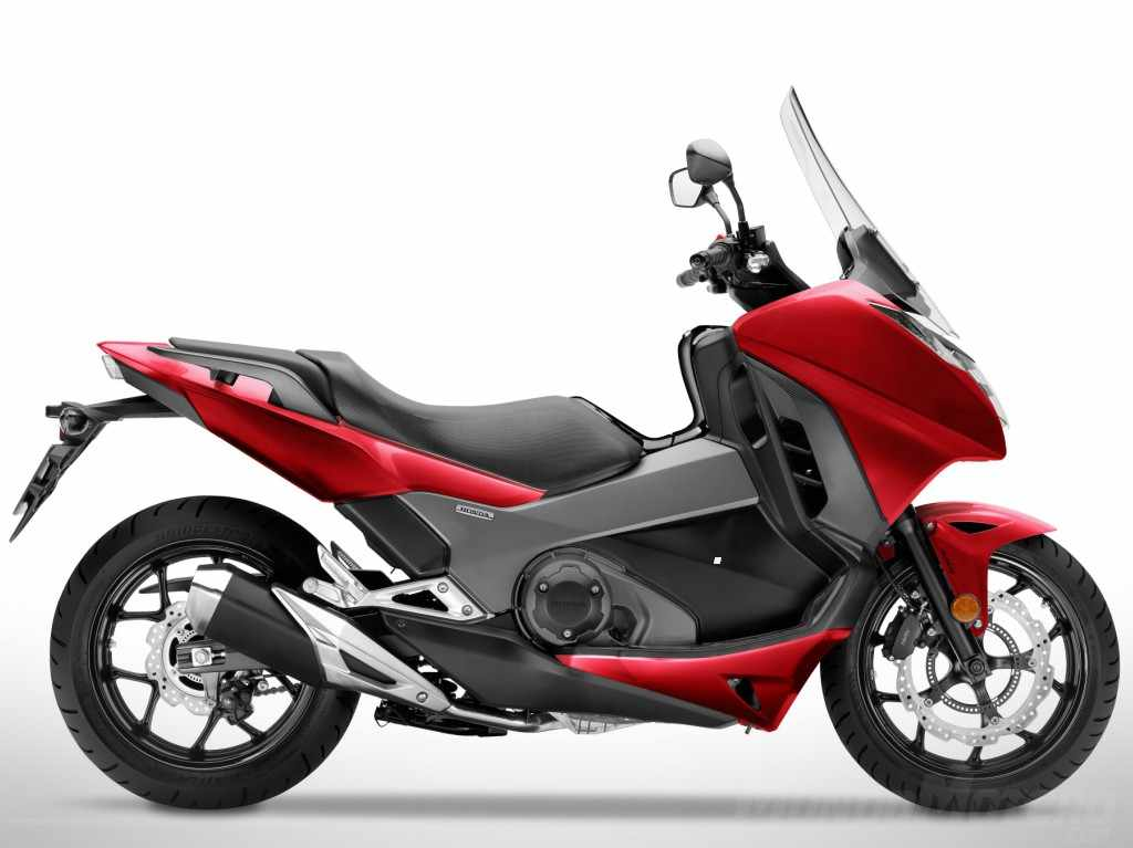 Novedades maxiscooters Honda Integra 750 2018
