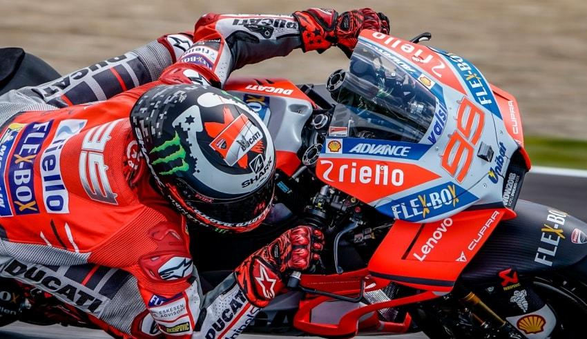 Jorge Lorenzo GP de España 2018