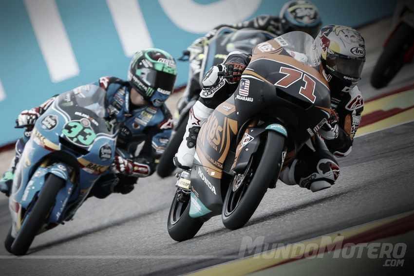 Resultados entrenamientos Moto3 Aragon 2017