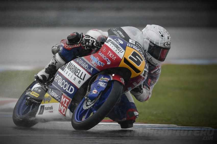 Romano Fenati ha igualado a Luis Salom como piloto con más victorias en Moto3.