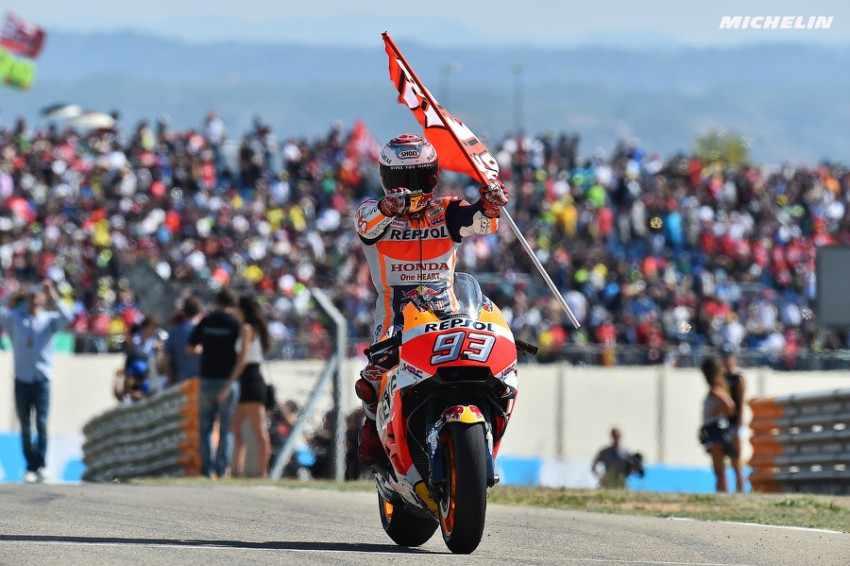 MotoGP 2017 Aragon Marc Marquez