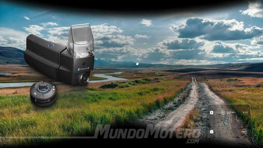 NUVIZ Head-Up Display para casco de moto