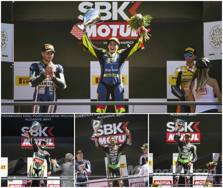 SBK Portimao 2017 - El verde Kawasaki domina el campeonato