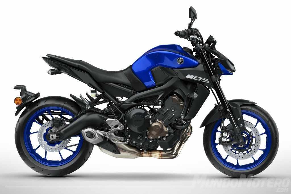 Novedades motos Yamaha MT-09 2018