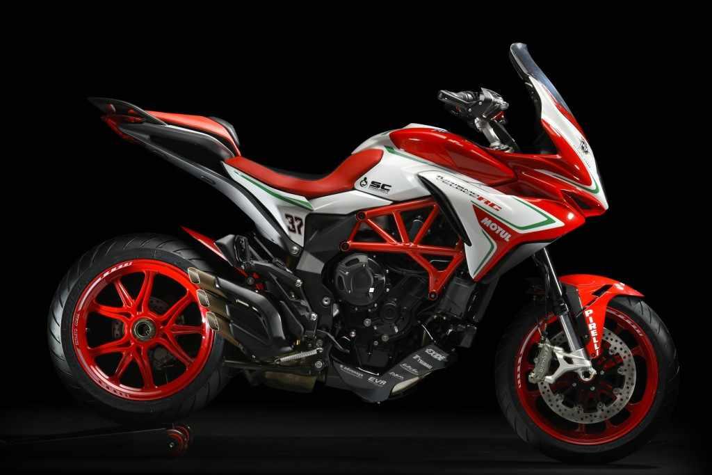 Novedades Motos Trail MV Agusta Turismo Veloce RC 2018