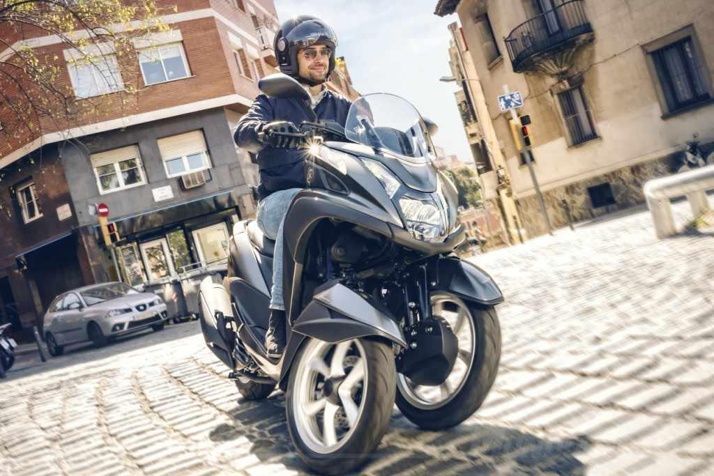 Prueba Yamaha Tricity 125