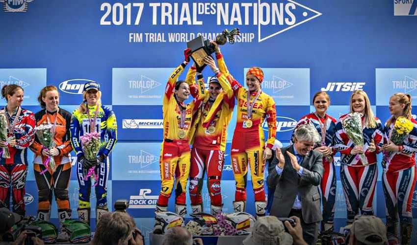 Trial de las Naciones 2017 - El equipo femenino se lleva el título