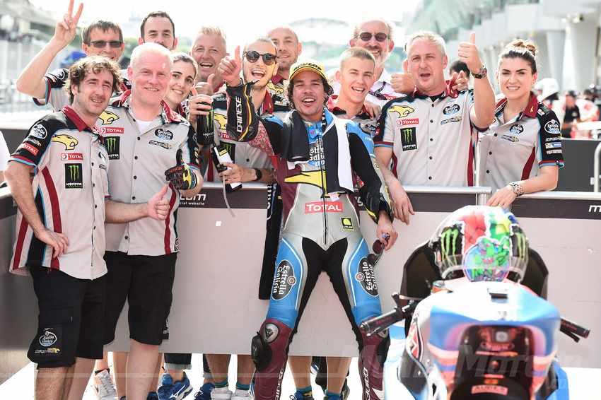 Franco Morbidelli Campeon Moto2 2017
