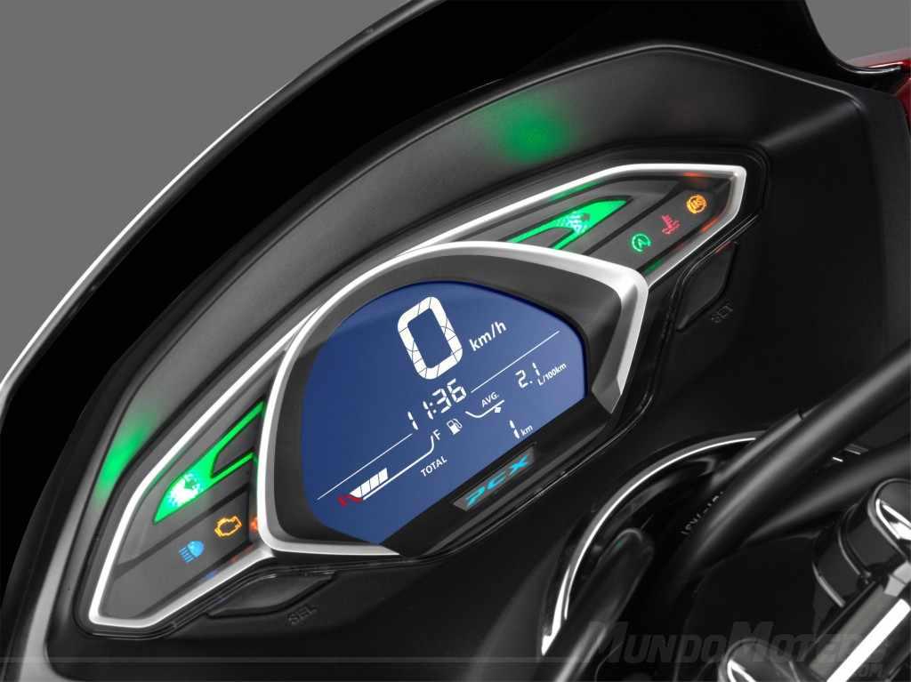 Nuevo scooter Honda PCX 125 2019 velocidad maxima