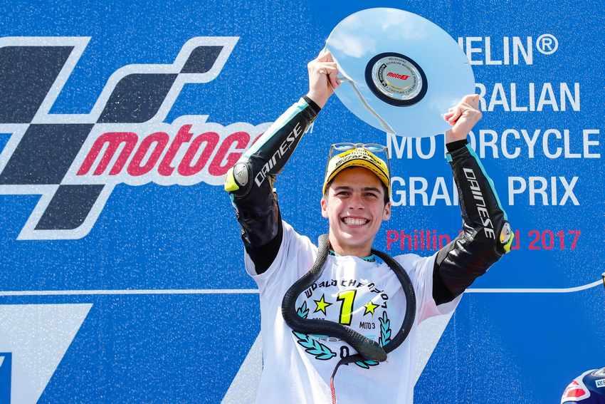 Joan Mir Campeon del Mundo de Moto3 2017