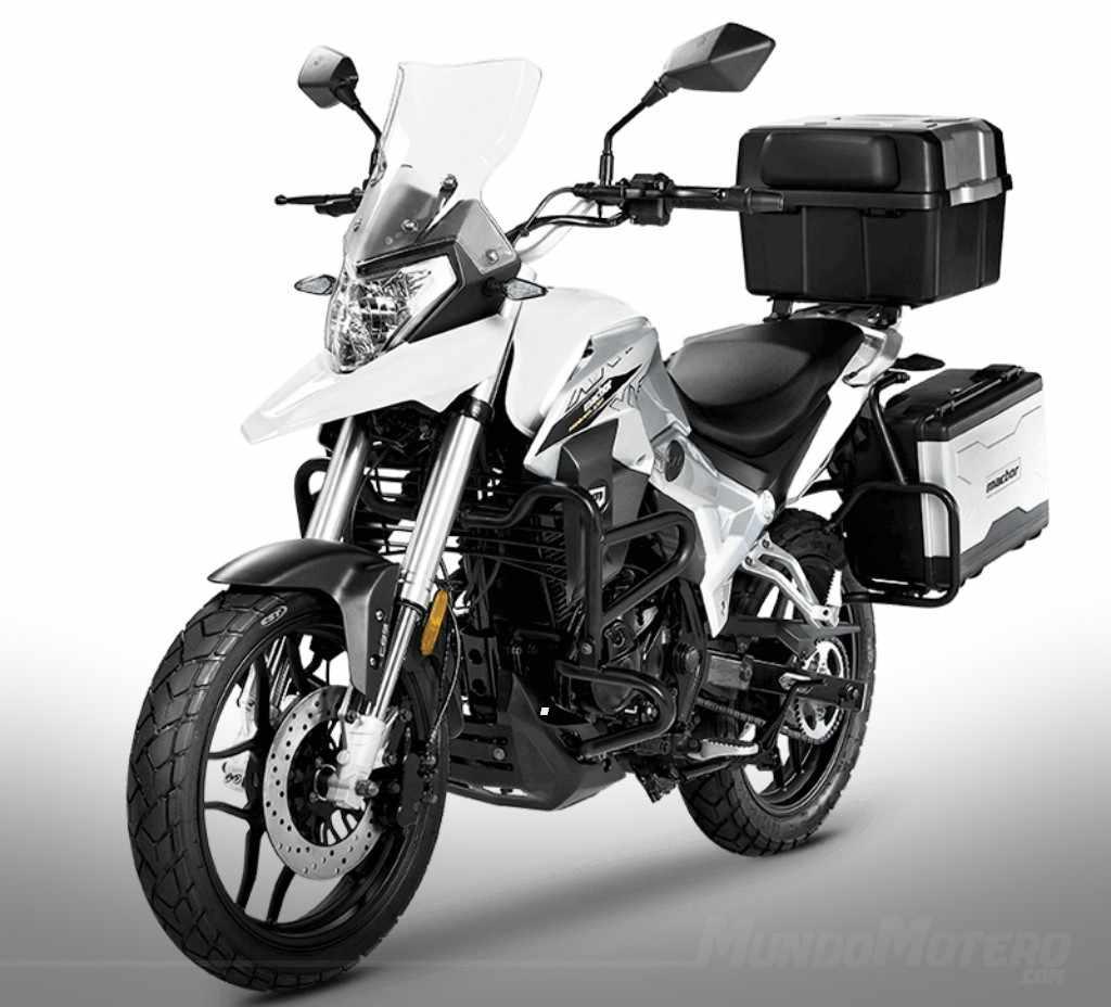 MACBOR Montana XR1 - moto trail de 125 cc