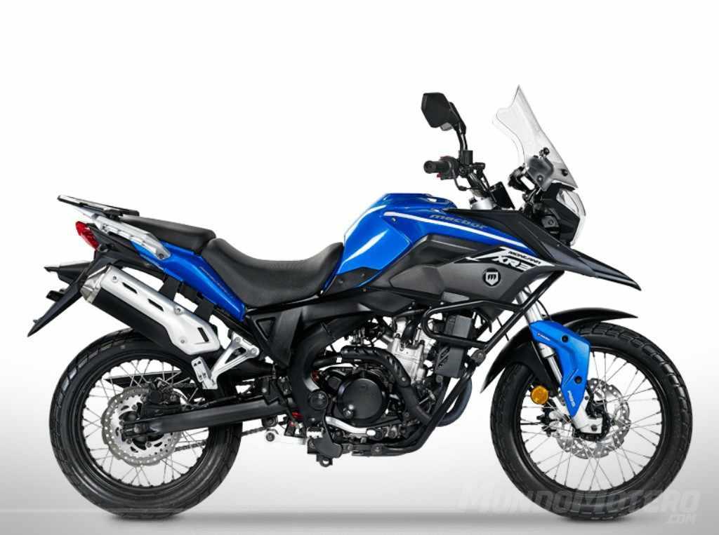 moto de trail a2 MACBOR Montana XR3