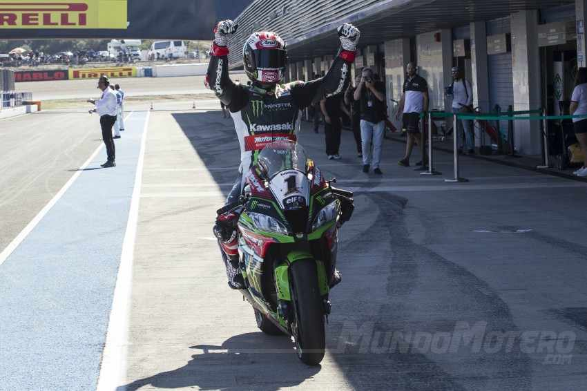 Jonathan Rea - Doblete en el Circuito de Jerez