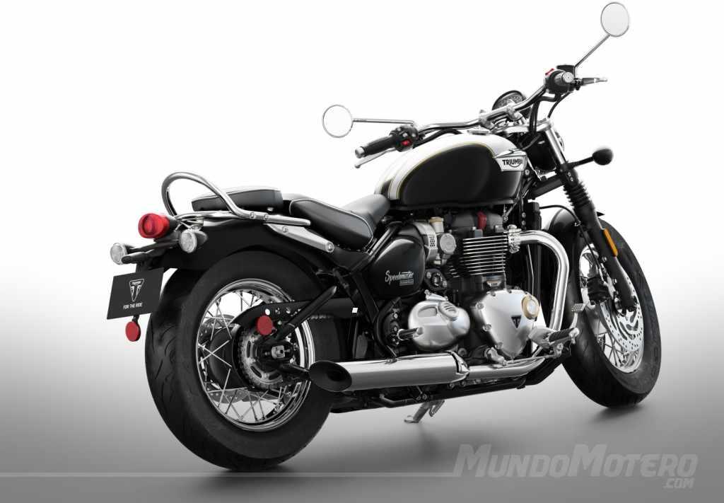 Novedades motos Triumph Bonneville Speedmaster 2019