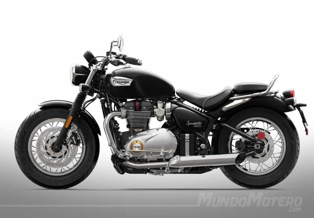 triumph bonneville speedmaster 2018 precio ficha tecnica y opiniones. Black Bedroom Furniture Sets. Home Design Ideas