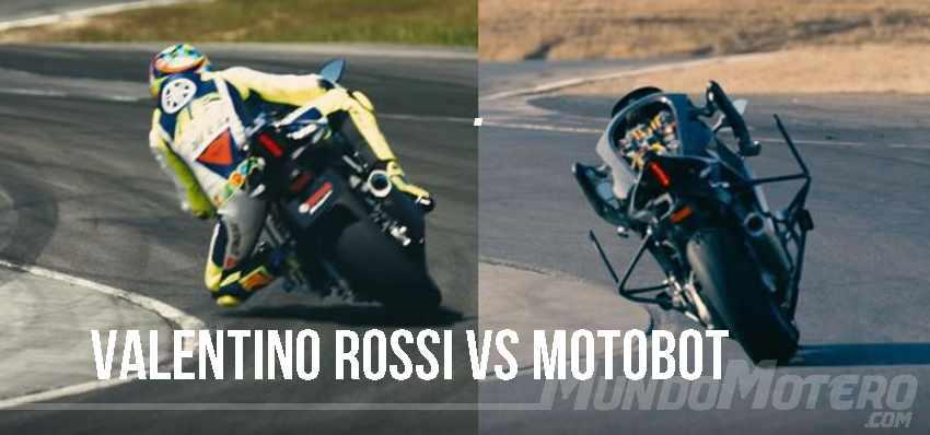 Valentino Rossi Vs Motobot