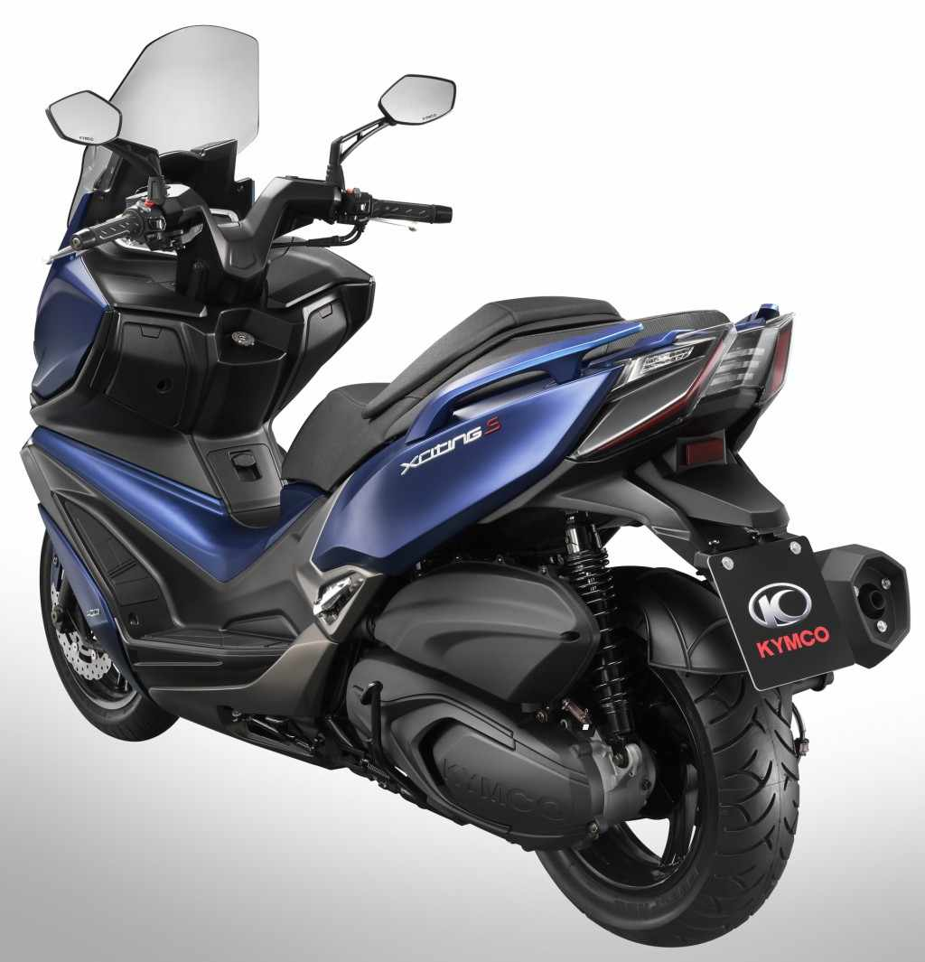 Novedades scooters 400 - KYMCO Xciting 400 S