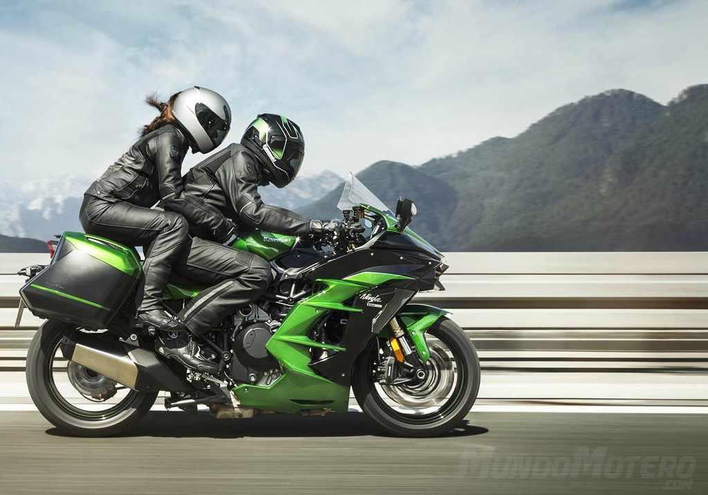Novedades motos para viajar Kawasaki Ninja H2 SX 2019