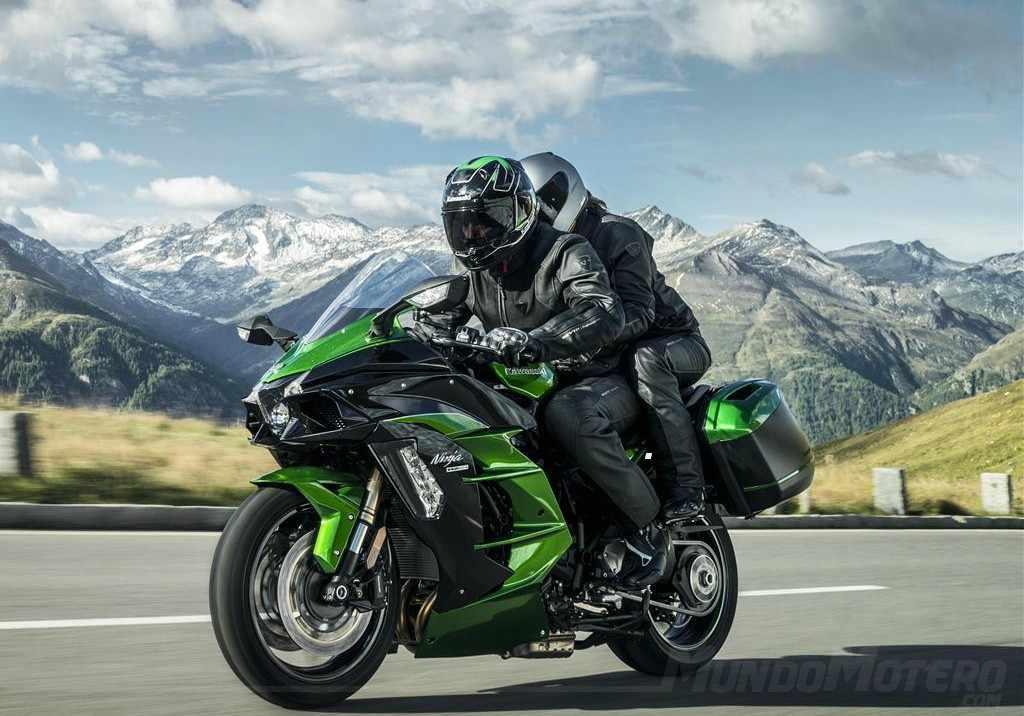 Novedades motos Kawasaki Ninja H2 SX 2019